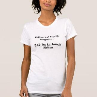 、しかし決して忘れられる。落ちた、Jo R.I.P.第1のLt… Tシャツ