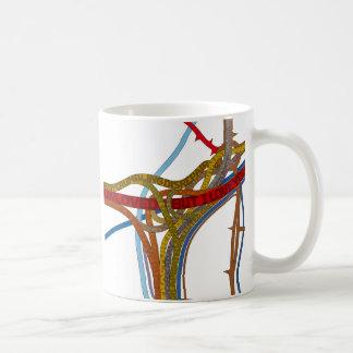 (しかし) I愛スパゲッティ接続点のマグ。 コーヒー・マグ コーヒーマグカップ