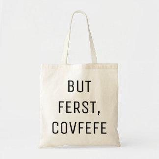 しかしFERSTのCOVFEFE |のおもしろいなトートバック トートバッグ