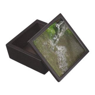 したたる滝泡立つ水優れたギフトBo ギフトボックス