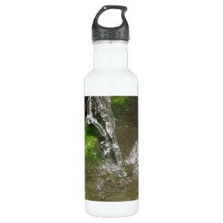 したたる滝泡立つ水 ウォーターボトル