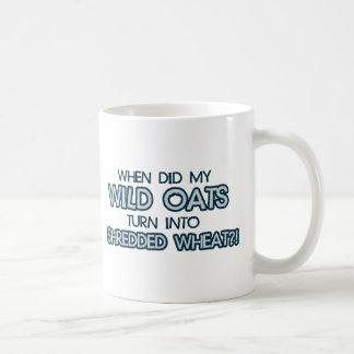 したときに私の野生オートムギは寸断されたムギに回ります コーヒーマグカップ