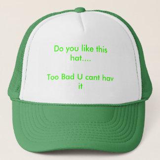 して下さい好みますこの帽子を….余りに悪いUの傾斜したhavそれ キャップ