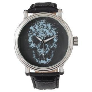 しぶきのスカル 腕時計