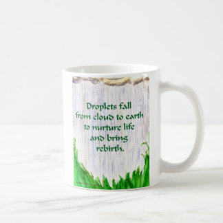 しぶきの秋のマグ コーヒーマグカップ