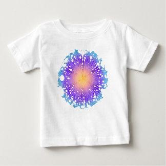 しぶきの花 ベビーTシャツ