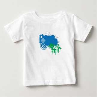 しぶき ベビーTシャツ