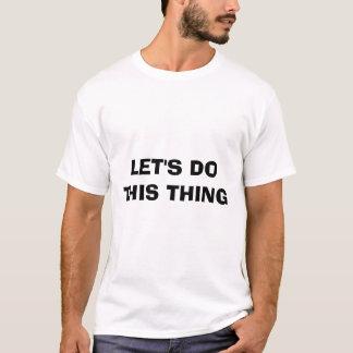 しますこの事を割り当てます Tシャツ