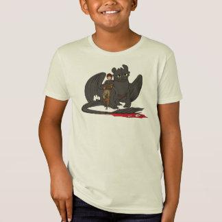 しゃっくり及び歯のない Tシャツ