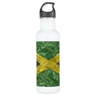 しわが寄るジャマイカの旗- ウォーターボトル