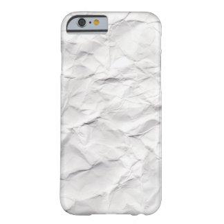 しわにされたペーパー質 BARELY THERE iPhone 6 ケース