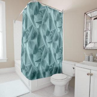 しわになる織られる水のLameの模造のな金属生地 シャワーカーテン