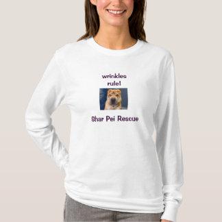 しわ4私達! Shar Peiのワイシャツ Tシャツ