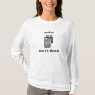しわ4私達! Shar Peiの救助のワイシャツ Tシャツ