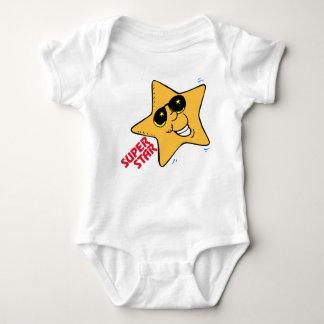 """""""すごい星""""のOhそうかわいい新生児のTシャツかクリーパー ベビーボディスーツ"""