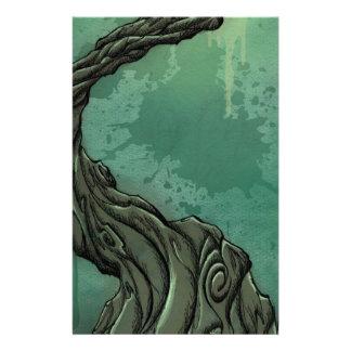 すごい木および三日月の月 便箋