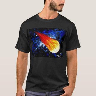 すごい熱い彗星炎の塊 Tシャツ