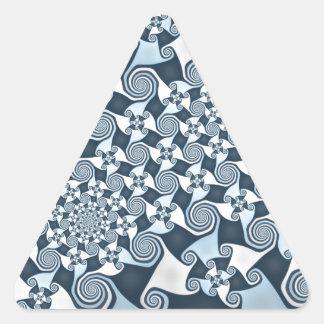 すごい風 三角形シール
