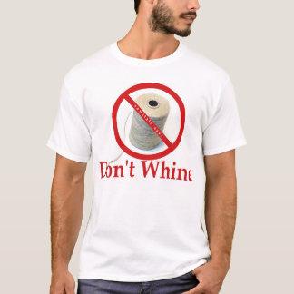 すすり泣かないで下さい Tシャツ