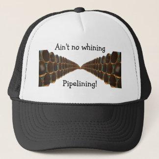 すすり泣くパイプライニングの帽子無し キャップ