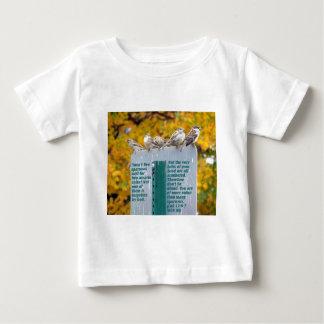 すずめを考慮して下さい ベビーTシャツ