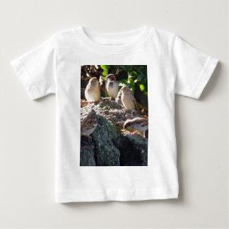 すずめ ベビーTシャツ
