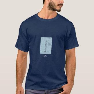 すずめ、K.C.からぶら下げて下さい Tシャツ