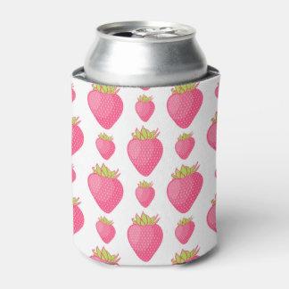 すてきないちごの漫画のデザイン 缶クーラー