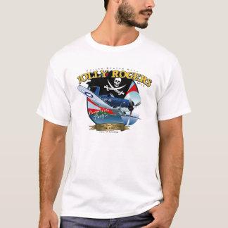すてきなロジャースF4U海賊 Tシャツ