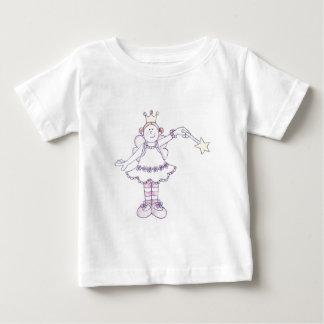 すてきな国家の妖精の女の子 ベビーTシャツ