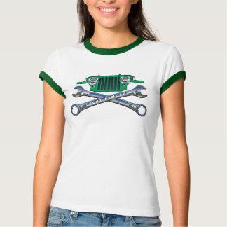 すてきな緑の平らなフェンダー Tシャツ