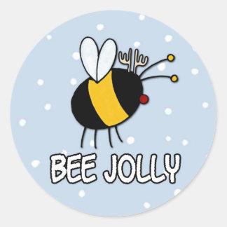 すてきな蜂 ラウンドシール