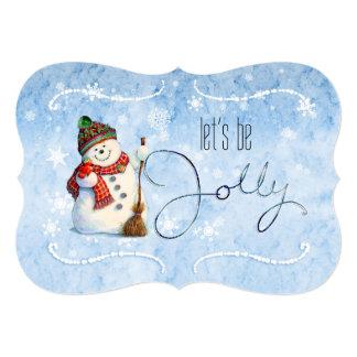 すてきな雪だるまLBJa カード