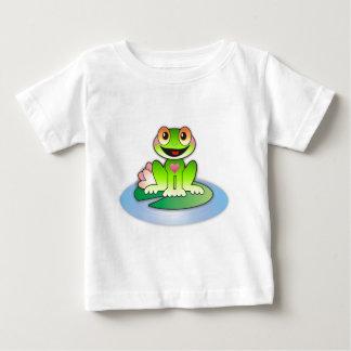 すてきなFroggy * ベビーTシャツ