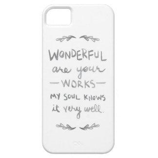 すばらしいですあなたの仕事(barelythereの電話カバー)は iPhone SE/5/5s ケース