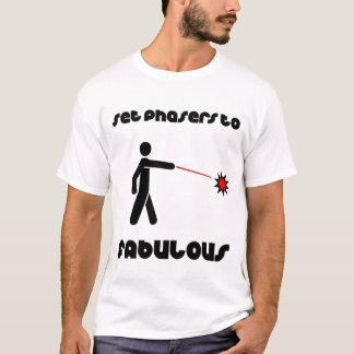 すばらしいにPhasersを置いて下さい Tシャツ