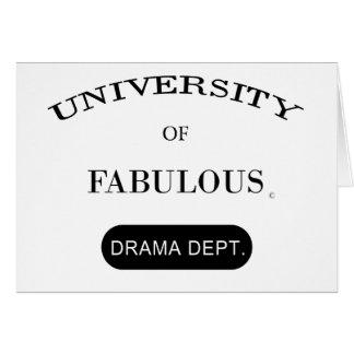 すばらしいの大学(戯曲部門) グリーティングカード