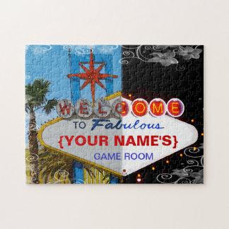 すばらしいへの歓迎あなたの娯楽室! ジグソーパズル