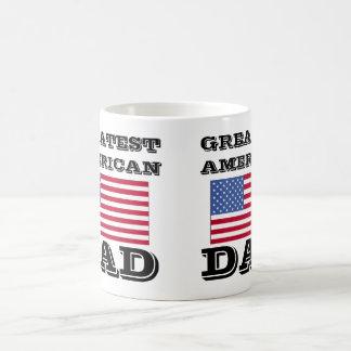すばらしいアメリカのパパ コーヒーマグカップ