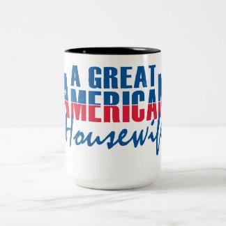 すばらしいアメリカの主婦 ツートーンマグカップ
