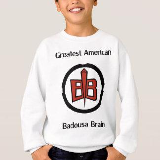 すばらしいアメリカ人Badousa スウェットシャツ