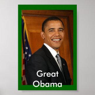 すばらしいオバマ ポスター