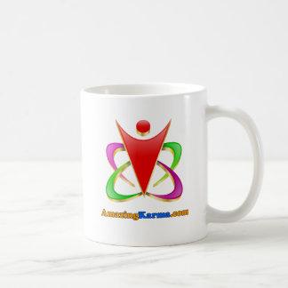 すばらしいカルマ| AmazingKarma.comのロゴ コーヒーマグカップ