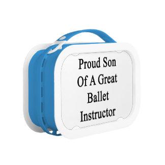 すばらしいバレエのインストラクターの誇り高い息子 ランチボックス
