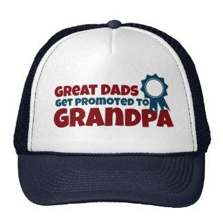 すばらしいパパは祖父に促進されて得ます メッシュ帽子