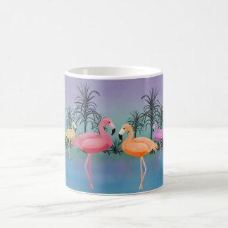 すばらしいフラミンゴ コーヒーマグカップ