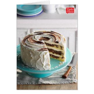 すばらしいマーブルケーキ カード