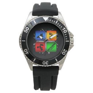 すばらしいモトクロスの都市スタイル 腕時計