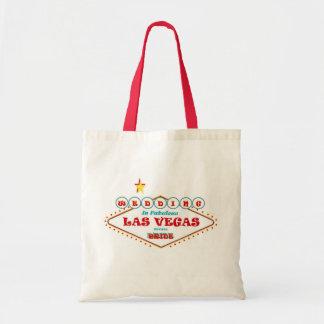 すばらしいラスベガスの花嫁のバッグの結婚 トートバッグ
