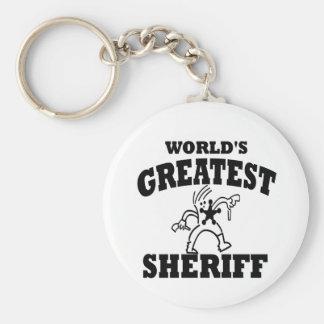 すばらしい保安官 キーホルダー